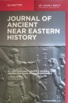 Journal of Ancient Near Eastern History 4/1-2, 2017