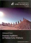 Funerary traditions in Nubian Early Makuria, Mahmoud El-Tayeb