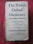 The pocket oxford dictionary of current english