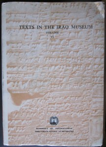 Texts in the Iraq Museum: Cuneiform texts: Administrative texts from the Ur III Dynasty, by F. Reschid
